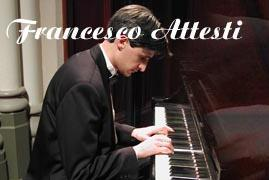 Francesco Attesti Interantional Concert Pianist